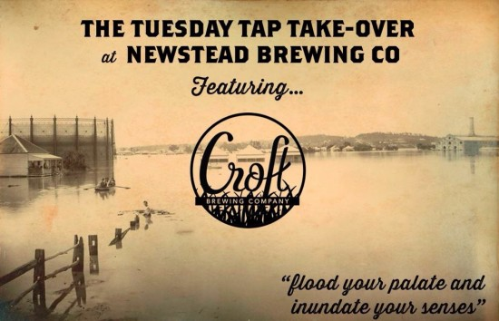 Croft Tap Take-Over @ Newstead Brewing Co