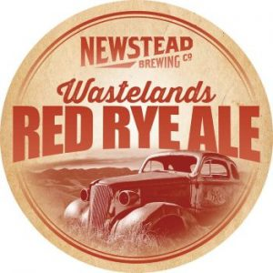 Newstead Brewing Co – Wastelands Red Rye Ale